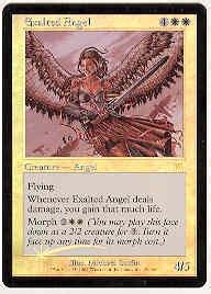 magic the gathering onslaught single exalted angel foil