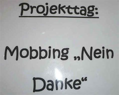 anti mobbing tag der klasse