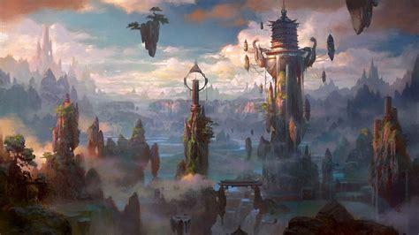 fantasy city wallpaper hd gallery