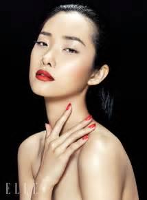 kwak ji young poses  zhang jingna  elle vietnam