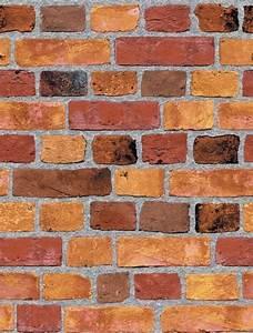 Sf084791 Faux Brick Wallpaper