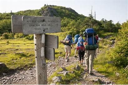 Appalachian Trail Hiking States Highlands Virginia Hike