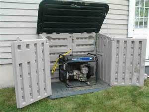 small sheds for generators generator enclosure http