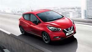 Voiture Nissan Micra : nissan micra petite voiture berline compacte nissan ~ Nature-et-papiers.com Idées de Décoration