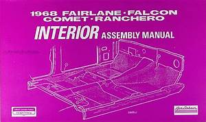 1968 Electrical Assembly Manual Fairlane Falcon Ranchero