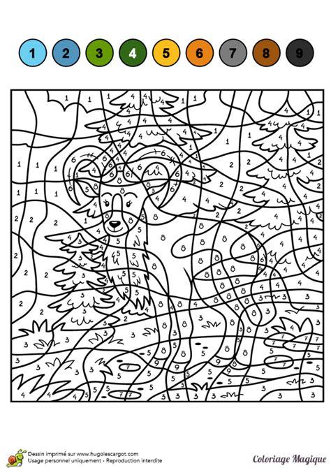 dessin  colorier dun coloriage magique cm le mouflon