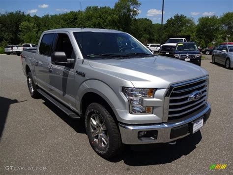 2015 f150 colors 2015 ingot silver metallic ford f150 xlt supercrew 4x4