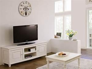 Meuble Shabby Chic : egadi meuble tv en bois 145x45 cm hauteur 60 cm sediarreda ~ Teatrodelosmanantiales.com Idées de Décoration