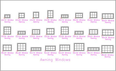 block view  awning window  block view dwg file