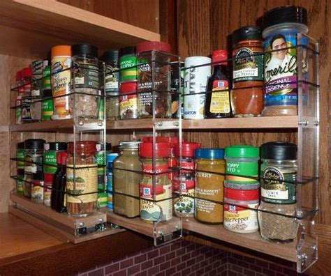 Cupboard Spice Rack Organizer by Best 25 Spice Storage Ideas On Spice Racks