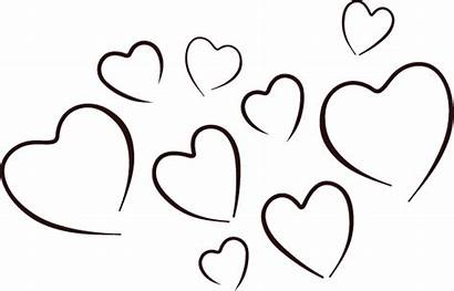 Hearts Coloring Pages Valentine Stars Valentines Promo