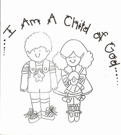 Coloring Pages Lds God Child Nursery Primary