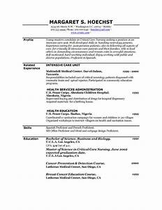 Latest Resume Format Free Printable Resume Template