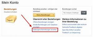 Amazon Bestellung Auf Rechnung : alte bestellungen bei amazon l schen tipps tricks alternativen ~ Themetempest.com Abrechnung