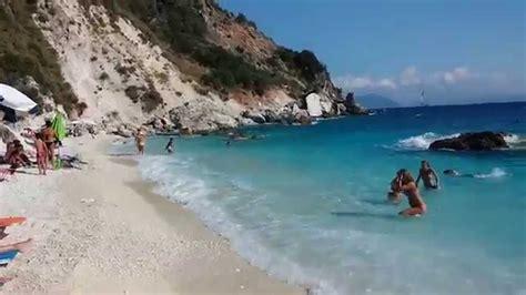 Agiofili Beach, Lefkada Youtube