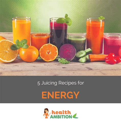 energy juicing recipes