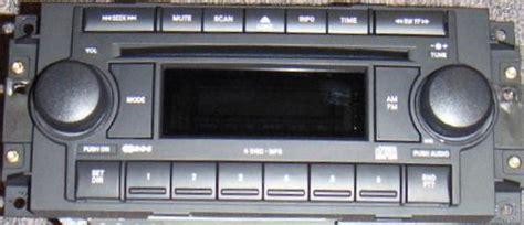 chrysler   cd mp radio raq