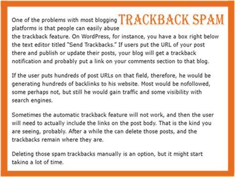 How To Stop Trackback Spam| Pingbacks| Seo Company