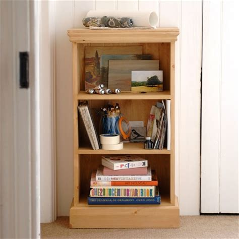 Additional Shelves For Bookcase by Dorchester Pine Narrow 3ft Bookcase 3 Shelves Fully
