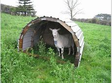 Plans for a curved goat shelter – johngeeknz