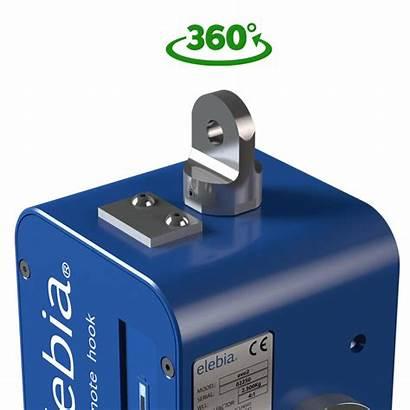 Hook Swivel Automatic Bearings Evo2 Lock Encoder