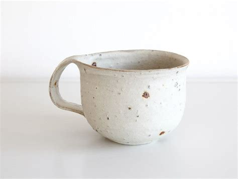 It does not contain lead or cadmium. White Rustic Mug | Rustic mugs, Mugs, Functional pottery
