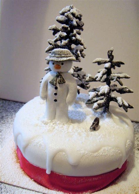 pretty snowman cake ideas  christmas pretty designs