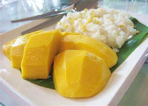 riz gluant 224 la mangue et au lait de coco khao niao ma mouang