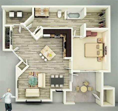 bedroom houseapartment plans  bedroom house