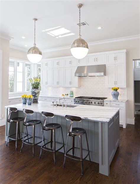gray kitchen island best 25 gray island ideas on gray and white