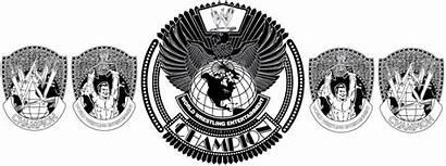 Wrestling Belt Wwe Clipart Belts Championship Vector