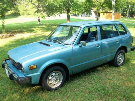 1978 Honda Civic For Sale by Honda Civic Wagon 1978 Light Blue For Sale Wba4013395