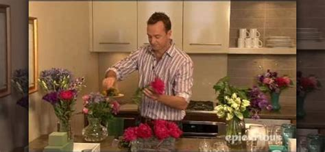 How To Arrange Flowers At A Dinner Party « Flower