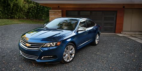 2018 Chevrolet Impala Top Front View Hd Wallpaper Latest