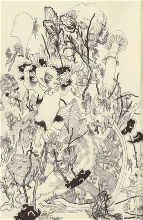 deathly forest art james jean sketches