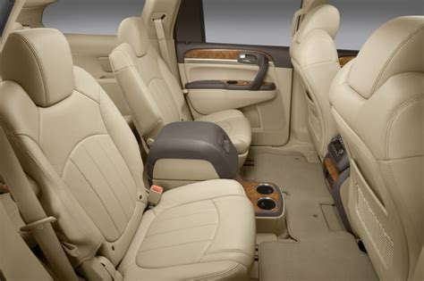 buick enclave cxl rear seats  cashmere color