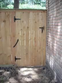 Wood Fence Gate Spring