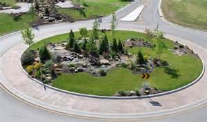Roundabout Landscape Design