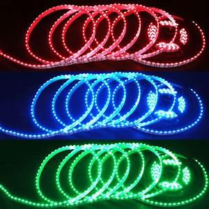 Side, Emitting, Dc12v, 020smd, 600leds, 80w, Flexible, Rgb, Led, Lights, Strips, Fslsrse
