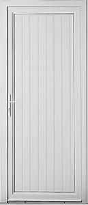 Porte De Service Aluminium : porte de service en pvc porte secondaire pvc kpark ~ Dailycaller-alerts.com Idées de Décoration