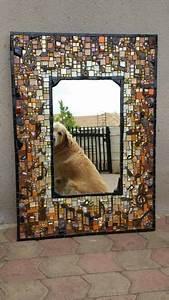 Mirror Mosaic Mosaic Pinterest Mosaik Spiegel And