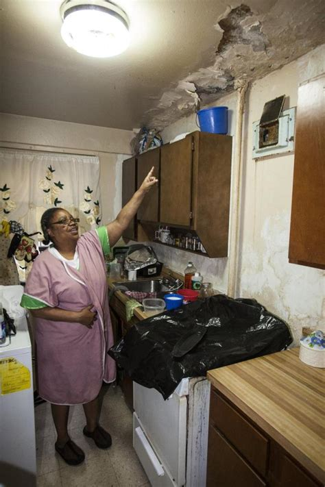 exclusive roof repairs  nycha building  leaks worse