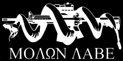 Smith And Wesson Wallpaper Molon Labe Ar 15 Snake Come And Take It 2a 3 Car Truck Vinyl Decal Veteran Made Ebay