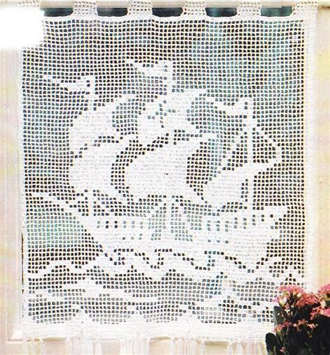 crochet rideaux le blog de crochet et tricot d art de
