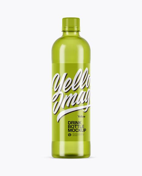 It is perfect for designers, since they are easily editable via smart objects. Clear PET Bottle With Yellow Drink Mockup - Clear PET ...
