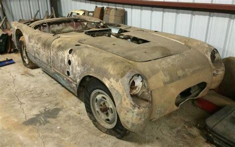barn find  corvette  salt flat racer