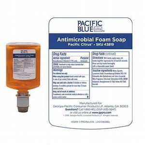 Pacific Blue Ultra Manual Dispenser Refill By Georgia
