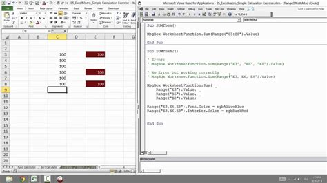 worksheetfunction sum vba excel breadandhearth