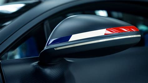 """Bugatti is celebrating its 110th anniversary with an exclusive new chiron sport edition that pays homage to the label's home country of france, the 110 ans bugatti. the french flag informs the car's key components with its red, blue and white design featured prominently throughout. Bugatti Chiron Sport """"110 ans Bugatti"""""""