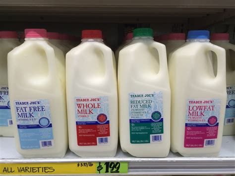 Milk In French Milk Differences Between France And The Usa
